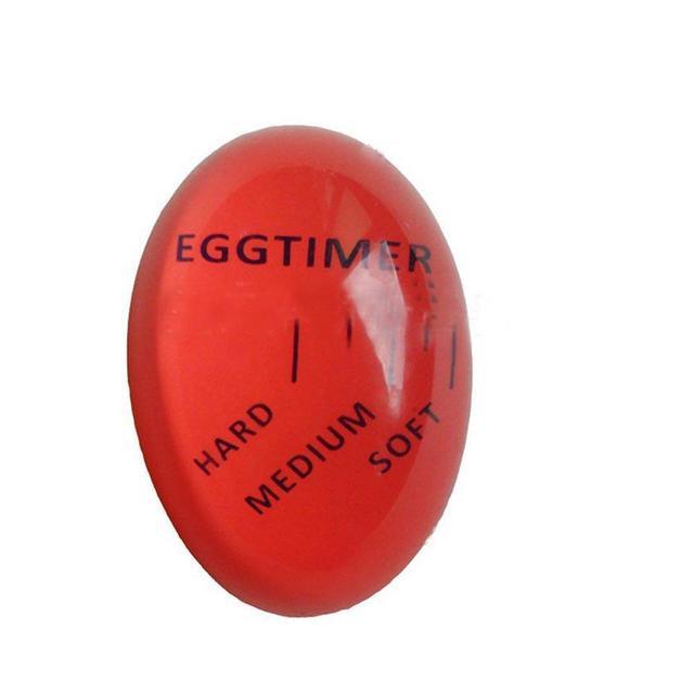 Hot selling Environmentally Egg Timer Indicator Soft-boiled Display Egg Cooked Degree Mini Egg Boiler Home Kitchen Timer