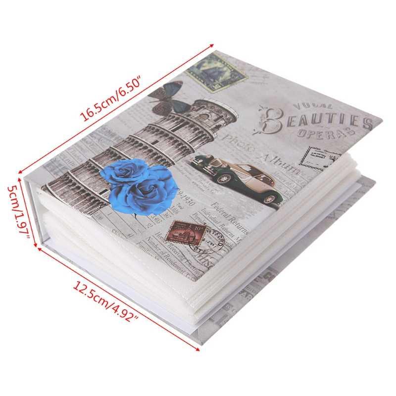 Hot Koop 100 Foto 'S Zakken Fotoalbum Interstitiële Foto 'S Boek Case Kid Album Opslag Familie Bruiloft Geheugen Gift