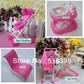 Free shipping hot sell girls birthday gift dressing table accessories for barbie doll