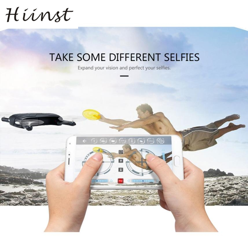 HIINST H37 Altitude Hold w/ HD Camera WIFI FPV RC Quadcopter Drone Selfie Foldable aircraft (set high 300,000 WiFi) P30 gift