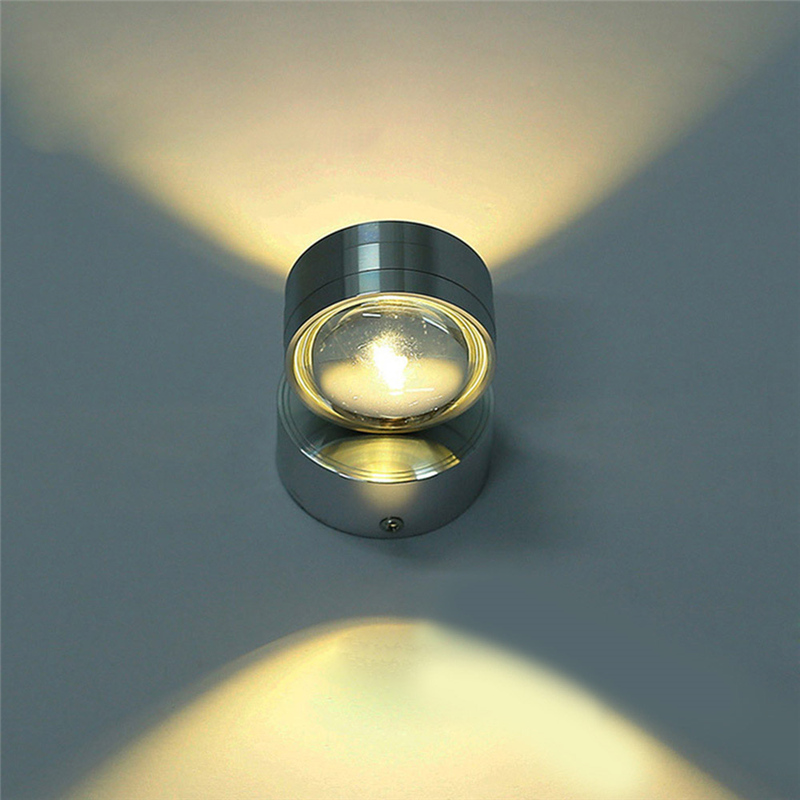 Lighting Basement Washroom Stairs: Up Down LED Wall Lamp Modern Sconce Stair Light Fixture