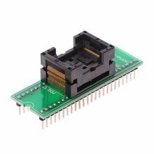 TSOP48 do DIP48 podwójny kontakt złocenie uniwersalny IC Programm Adapter gniazda Dropship cheap TCAM CN (pochodzenie) Nowy Układy scalone logiczne 8QQ0302 Other Normal