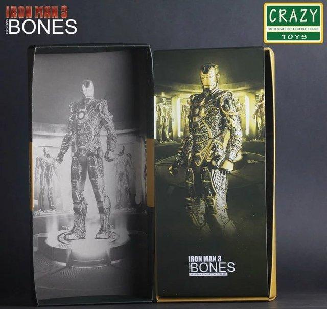 Фигурка Железный человек 3 костюм MARK - 41 BONES 3