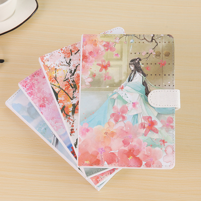 Chinese Ancient Person Notebook 32K Fabric Cover NotepadsChinese Ancient Person Notebook 32K Fabric Cover Notepads