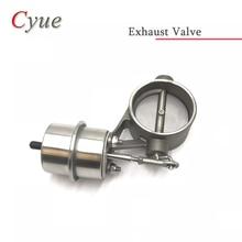 1 шт. 60 мм из нержавеющей стали выпускной управляющий контур клапан набор с Вакуумный привод закрытый стиль