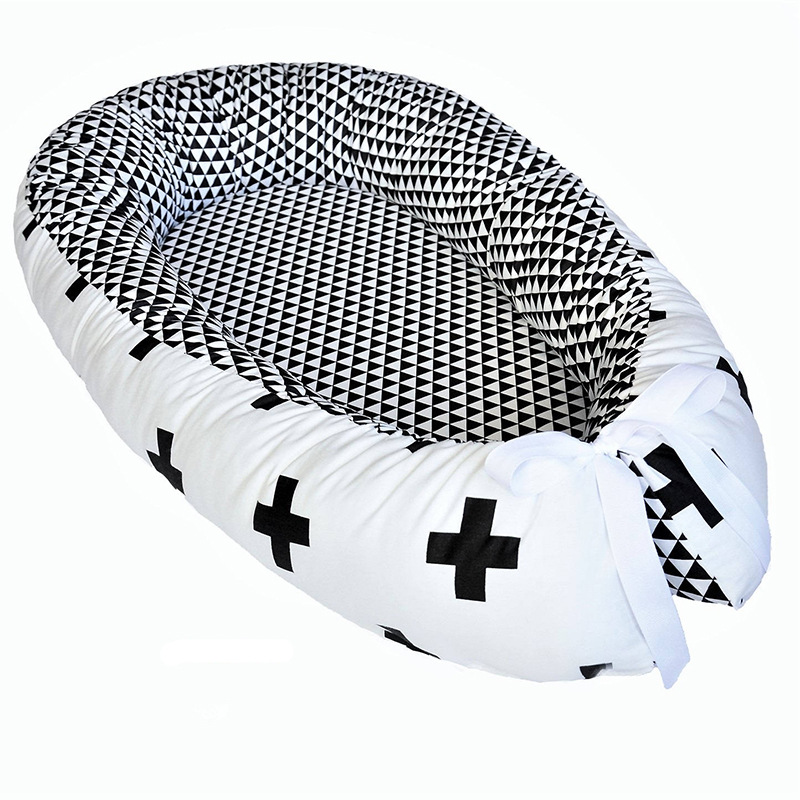 Portable Baby Crib Nursery Travel Folding Baby Bed Nfant