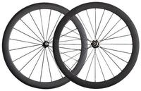 Good Quality Width 25mm U Shape Carbon Clincher Tubeless Road Bike Wheels 56mm Ceramic Hub 700C
