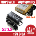 MDPOWER For Universal LCD monitor LCD TVs power AC adapter 12V 3.5A 42W charger coed