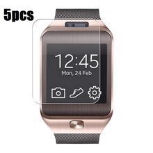 5 Teile/satz Neue Transparente LCD Screen Protector Film Für DZ09 Bluetooth Smart Uhr für smartwatch