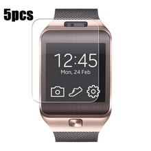 5PCS/Set New Transparent LCD Screen Protector Film For DZ09 Bluetooth Smart Watch for smartwatch