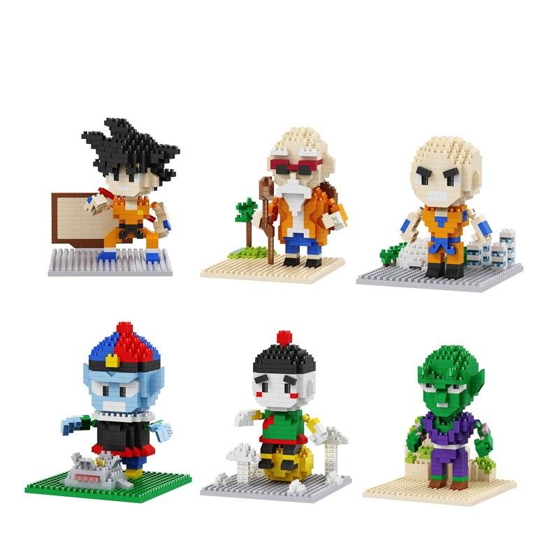 Dragonball Z Krillin Brick Block Mini Figure  New