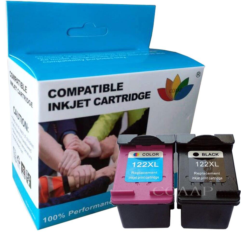 Совместимый чернильный картридж hp 122 XL, 2 шт., чернила для принтера HP 122 122XL Deskjet 1000 1050A 2000 2050 2050A 3000 3050 3050A 1510