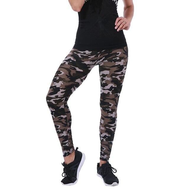 CUHAKCI-Legging de camuflaje ceñido para mujer, pantalones de ocio de alta elasticidad, adelganzantes, para primavera y otoño, nuevas marcas 4