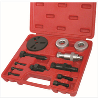Groothandel 2 sets A/C Compressor Koppeling Remover Installer Puller Tool Auto Auto Airconditioning AC