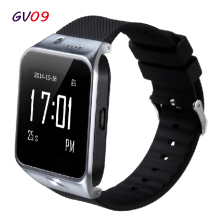 New Smart Watch GV09 Smart Phone Watch Support SIM GSM GPRS SMS Bluetooth Camera Max 32GB TF Card APK is Compatible with Android