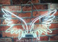 Barato Alas de Ángel personalizadas azul blanco rojo rosa azul oscuro púrpura Verde turquesa amarillo vidrio neón