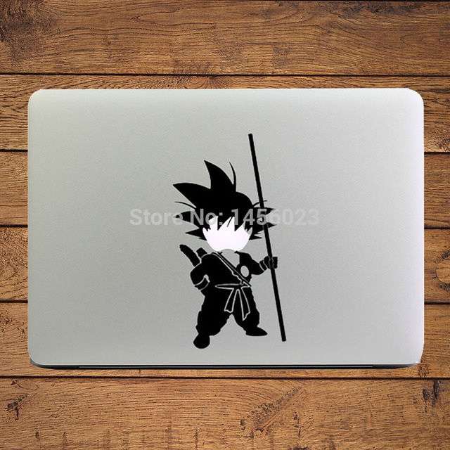 Yong song goku dragon ball cartoon laptop decal sticker for apple macbook sticker 11 13