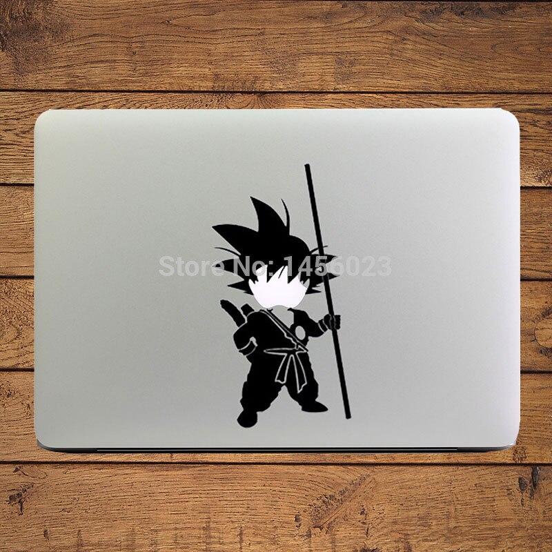 Yong Song GoKu Dragon Ball Cartoon Laptop Decal Sticker for Apple MacBook Sticker 11 13 15 Decoration Art Skin Pegatinas