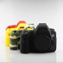 цена на Sleeplion Rubber Silicone Camera Case For Canon EOS 6D 6D2 Mark II 2 DSLR Camera Body Cover Protector Bag