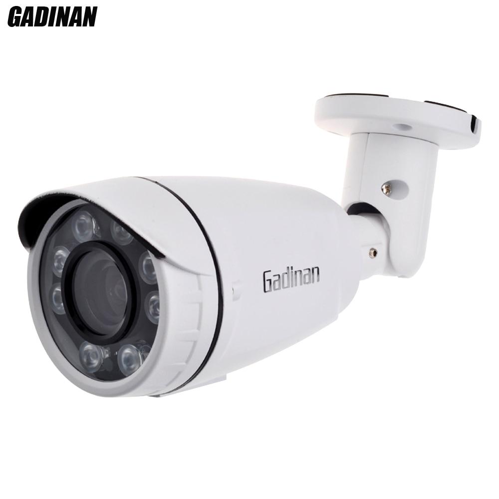 GADINAN AHD XVI 5MP Camera 2560*1920 IR Leds Security Systems Survelliance Camera AHD Varifocal Lens 2.8-12mm IP66 WaterproofGADINAN AHD XVI 5MP Camera 2560*1920 IR Leds Security Systems Survelliance Camera AHD Varifocal Lens 2.8-12mm IP66 Waterproof