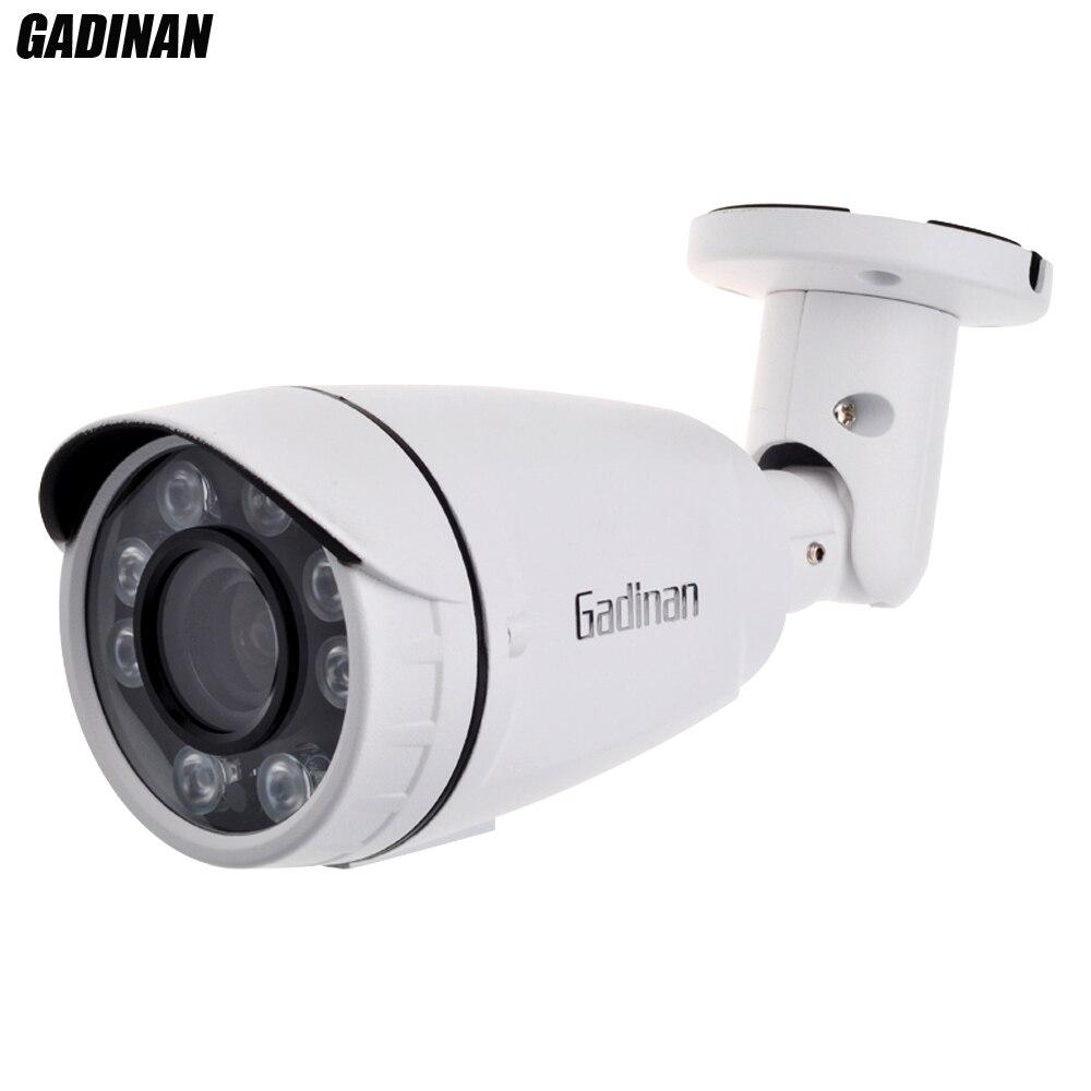 Gadinan AHD XVI 5MP Камера 2560*1920 ИК-светодиодов безопасности системы камера слежения варифокальный объектив AHD 2,8-12 мм IP66 Водонепроницаемый