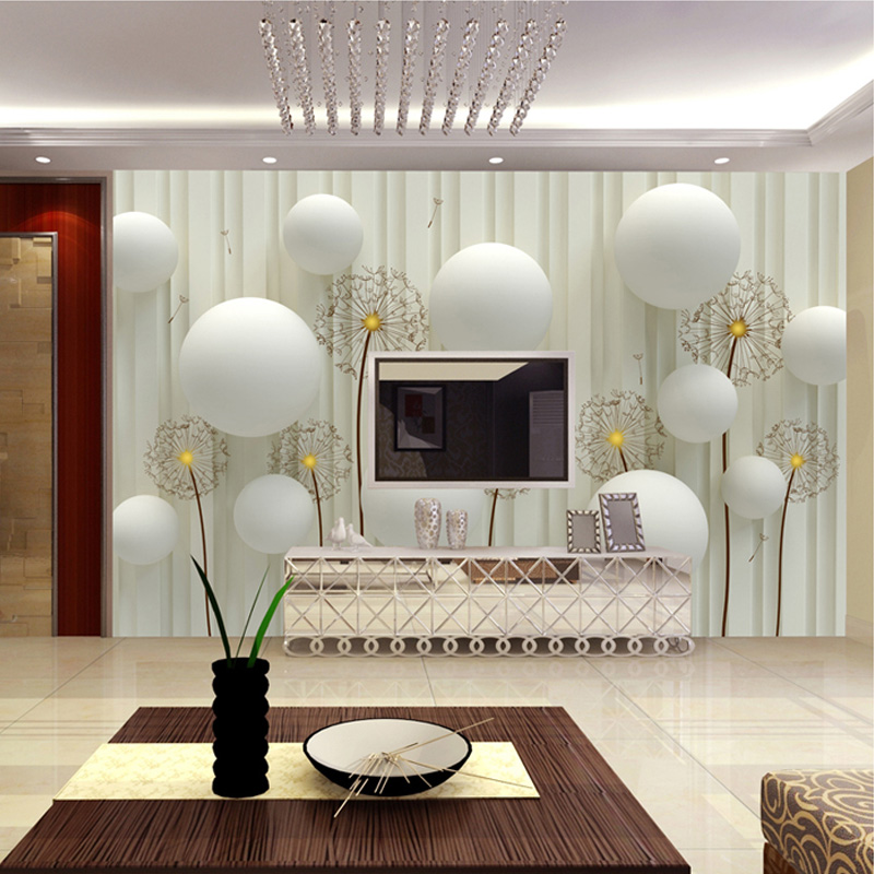 beibehang Custom Mural European Stereo 3D Wallpaper Living Room Sofa Cloth Modern Wallpaper ...