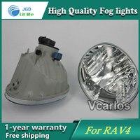 2PCS / Pair Halogen Fog Light For Toyota RAV4 2004 2005 High Power Halogen Fog Lamp Auto DRL Lighting Led Headlamp