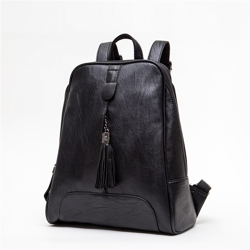 New Fashion Women 2017 Backpacks Female Fashion Bags Ladies Black Backpack Bag Oxford Cloth Student Accessories