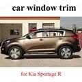 Внешние автомобильные аксессуары из нержавеющей стали  отделка окна  автомобильный Стайлинг для K-ia Sportage R