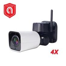Wireless 1080P 2MP Mini PTZ IP Camera WIFI Outdoor Onvif Audio P2P CCTV Security Waterproof Bullet Mini Wireless Camera Wifi
