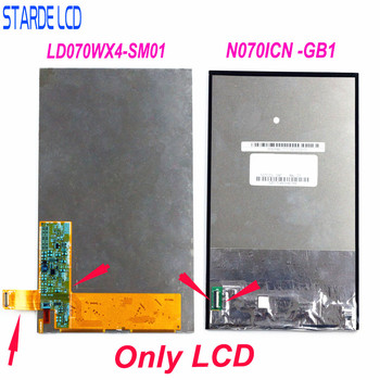 7 inch ips lcd display screen panel n070icn gb1 for asus fonepad hd7 me175 me372cg me372 me372cl k00e k00s me173x N070ICN -GB1 and LD070WX4-SM01 LCD Display Screen for Asus MemoPad HD7 ME173 ME175 ME375 ME176 ME372 ME173X K00B Two Version