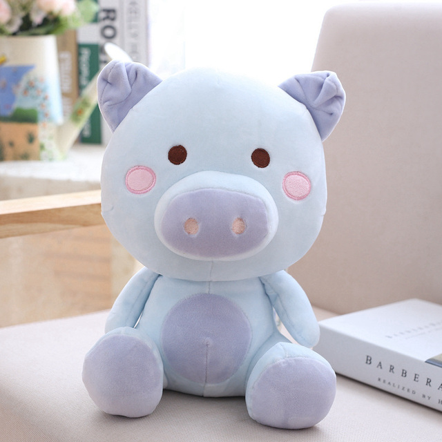 22cm Cute Pig Plush Toys Stuffed Soft Cartoon Animal Doll Baby Appease Sleeping Pillow Girls Kids Valentine's Day Gifts