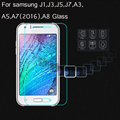 5PCS Tempered Glass For Samsung Galaxy J1 J3 J7 A3 A5 2016 A7 A9 J120F J320F J510 J7 Screen Protector Protective Case Film