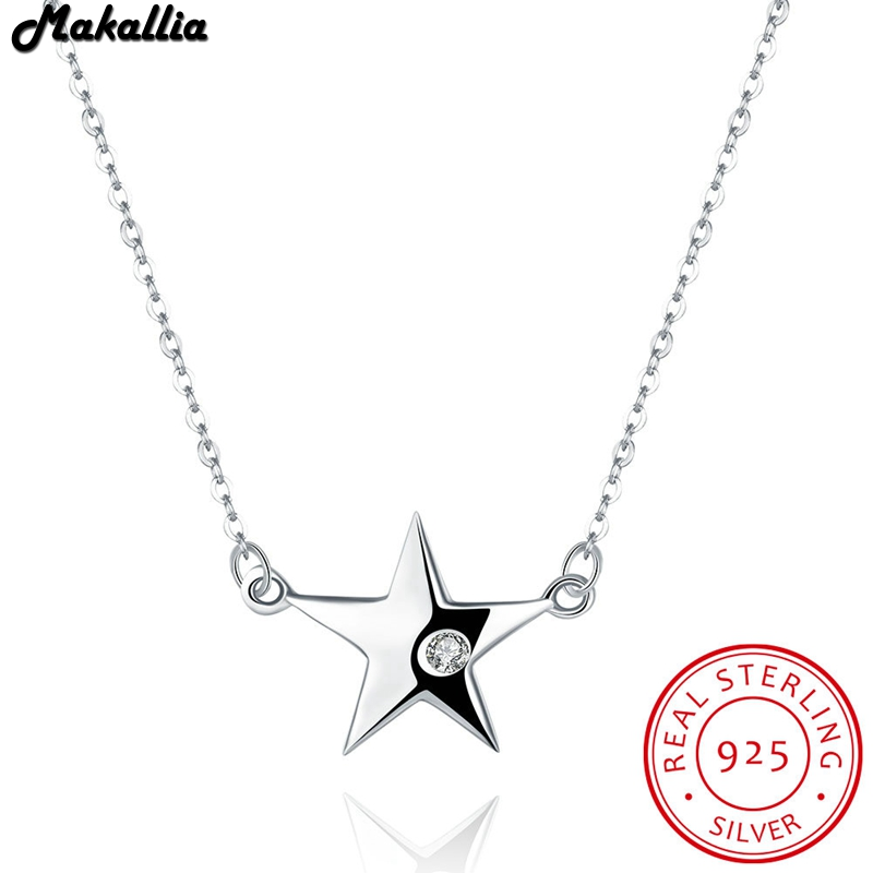 Classic 925 Sterling Silver star of Life Pendant Necklaces