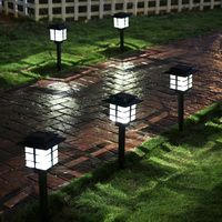 50cm Hight tuin verlichting Led Outdoor Solar lights lamp Power LED Path Way Wall Landscape Mount Garden Yard Fence Lamp Light