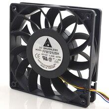 Новый оригинальный FFB1212SH 12025 12 V 1.24A 12 см мощный высокоскоростной воздушный вентилятор