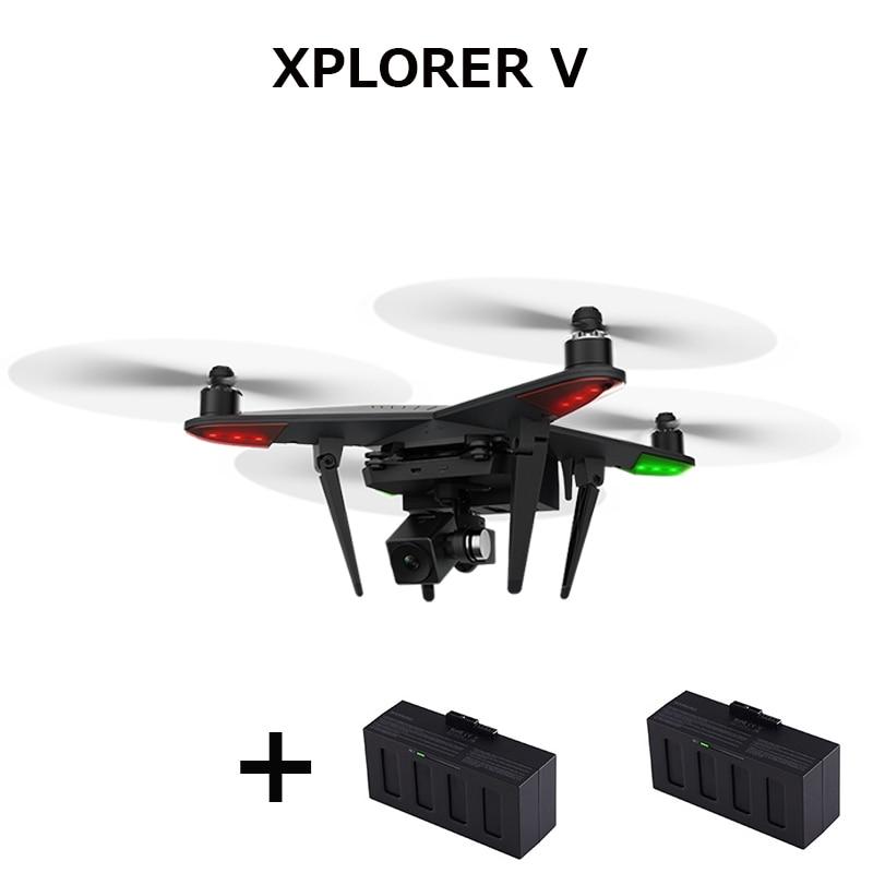 (Get an extra battery ) XIRO XPLORER V Drone FPV HD 14MP Camera Quadcopter GPS One Key Take-off Landing return RTF Camera drone
