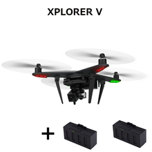 (Get an extra battery ) XIRO XPLORER V Drone FPV HD 14MP Camera Quadcopter GPS One Key Take-off Landing return RTF Camera drone