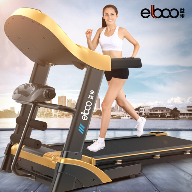 Germany benefits step V2 electric multifunctional treadmill home style professional shock folding super mute running machine