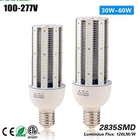 Free Shipping CE ROHS 50w corn cob light E27 E40 replace 180w HPS CFL MH street light