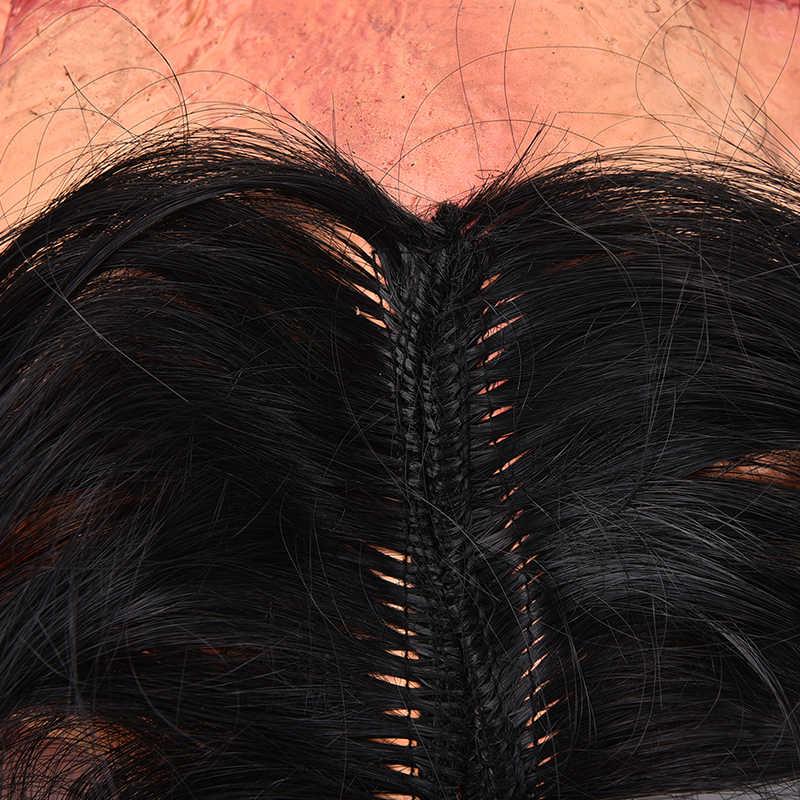 1PC Seghe Testa di Maiale Maschere Spaventose Della Novità di Halloween Maschera Con I Capelli Maschera di Halloween Caveira Cosplay Costume di Lattice Festival di Forniture