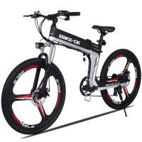 Ancheer New Brand 26 Inch Unisex Outdoor Damping High Speed Electric Mountain Bike E Bike E
