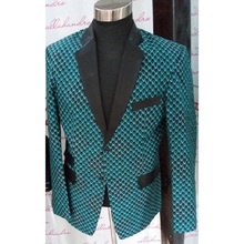 Fashion mens blazers print suit blazer wedding/party design handmade dashiki jacket male African clothing