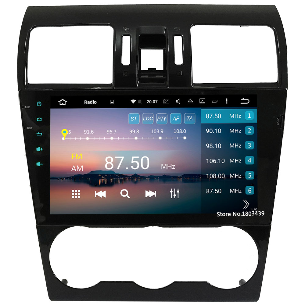 Android 6.0 32GB ROM 9 4G Octa Core 4GB RAM Car DVD Radio Player Stereo For Subaru Forester WRX XV 2014-2016 GPS Navigation