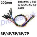 PIXHAWK / PX4 / APM 2.5 2.6 2.8 Cable 200mm DF13 connector RC