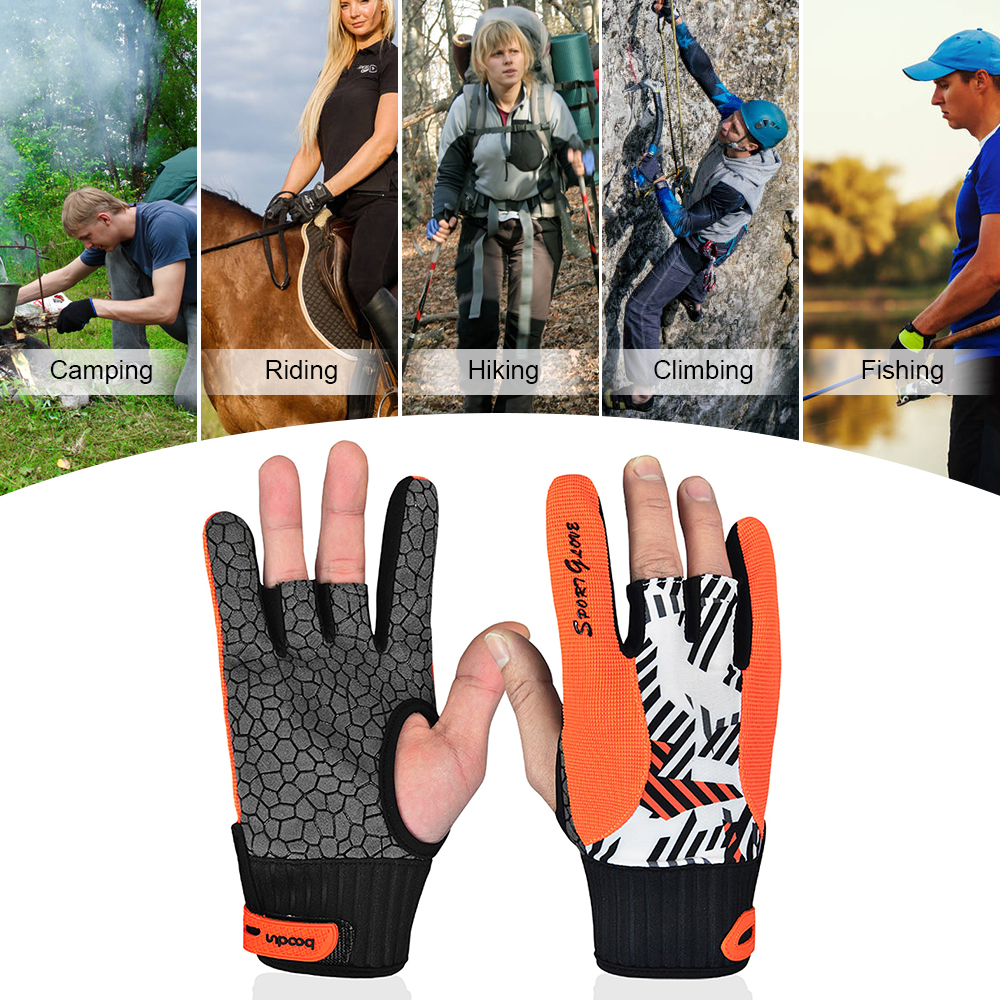 Professional Bowling Gloves Breathable Gym Gloves  5