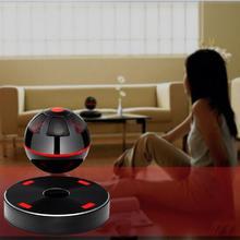 Portable NFC Magnetic Levitation Floating 3D Stereo Bluetooth Speaker 4.1 for iPhone/Samsung Black