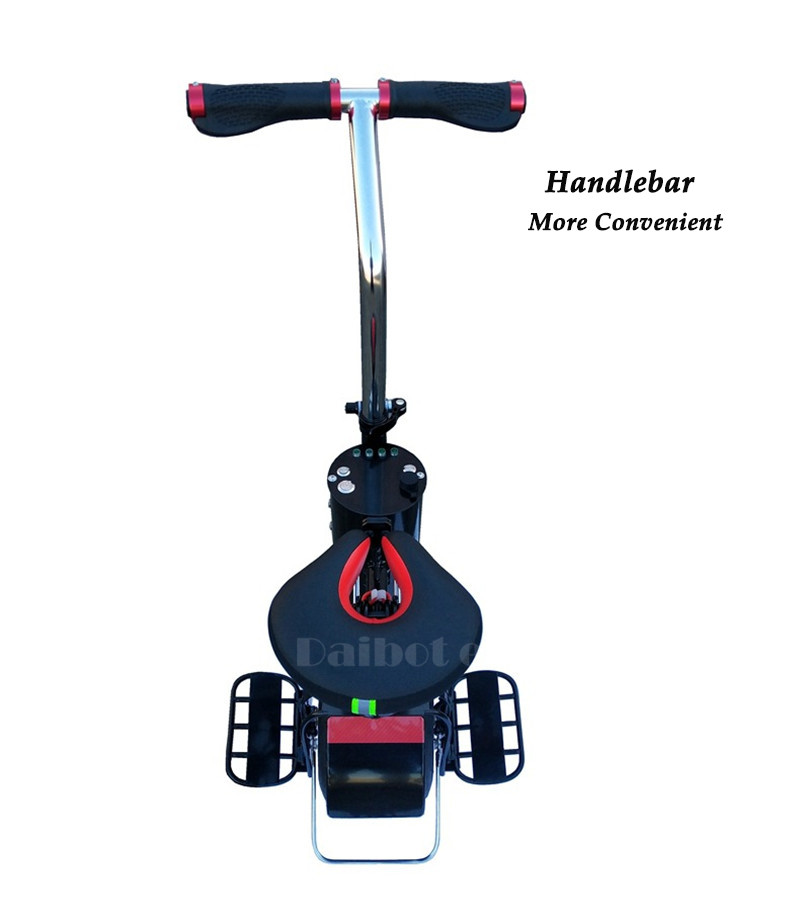 Daibot Monowheel Electric Unicycle One Wheel Self Balancing Scooters 60V 500W Electric Scooter With Seat For Adults 3