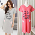 Summer Maternity Dress Bow Clothes For Pregnant Women 2 Piece Set Maternity One-Piece Dress V-neck Pregnancy Clothing