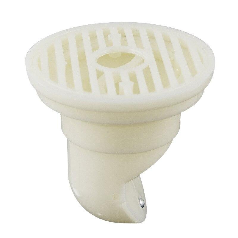 Déodorant Drain de Plancher Noyau Gravité Joint Côté Ouvert Égouttoir Blanc Plug Pour Le Bain Douche Salle De Bains En Plastique Core 70 cm Fuite -preuve